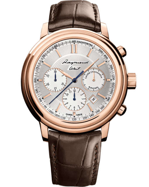 Mr Raymond Weil Tribute Rose Gold Automatic Chronograph Watch