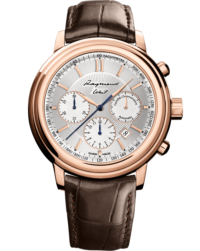Maestro Mr Raymond Weil Solid Rose Gold Watch Raymond Weil