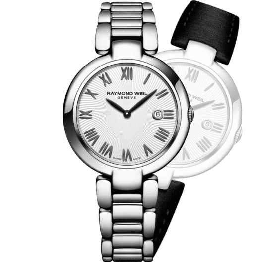 ساعة شاين بسوار قابل للتغيير من ريموند ويل