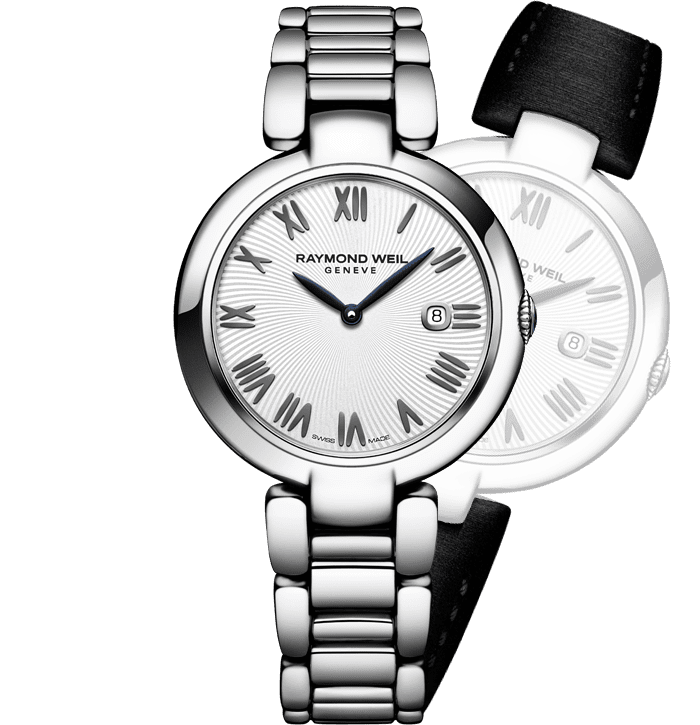 RAYMOND WEIL shine interchangeable bracelet watch