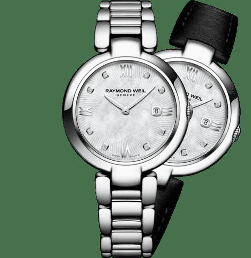 RAYMOND WEIL shine ladies full-diamond bezel steel quartz watch