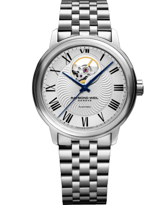 Maestro - Men's Steel Open Aperture Bracelet Watch - RAYMOND WEIL