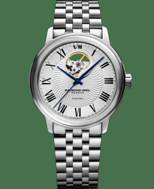 Maestro - Men's Steel Open Aperture Bracelet Watch - RAYMOND WEIL