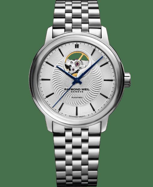 Maestro - Men's Stainless Steel Open Aperture Watch - RAYMOND WEIL