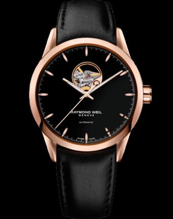 Freelancer - Men's Rose Gold Open Aperture Watch - RAYMOND WEIL