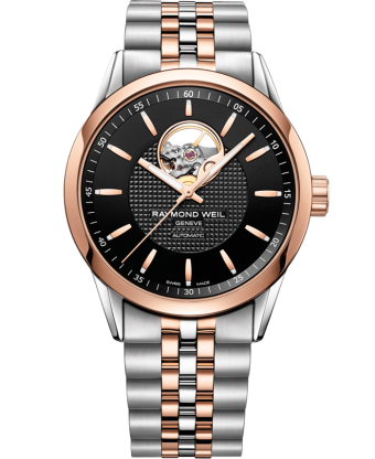 Freelancer – Montre 2710 or rose à guichet ouvert – RAYMOND WEIL