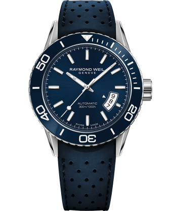 Freelancer - Realteam Blue Diver Automatic Watch - RAYMOND WEIL
