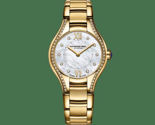 RAYMOND WEIL Noemia ladies 62 diamond quartz mother-of-pearl watch