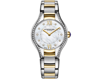 RAYMOND WEIL Noemia ladies 62 diamond quartz mother-of-pearl watch