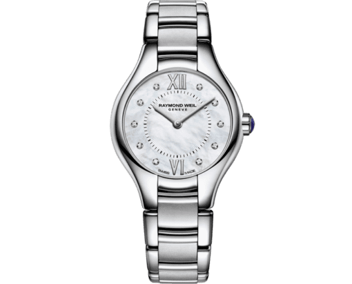 RAYMOND WEIL Noemia ladies 10 sparkling diamonds quartz watch