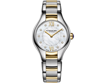 RAYMOND WEIL Noemia ladies two-tone gold diamond watch