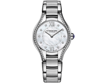RAYMOND WEIL Noelia in 24mm ladies 62 diamond quartz mother-of-pearl watch