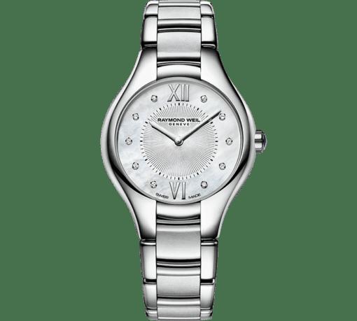 RAYMOND WEIL Noemia ladies 10 sparkling diamonds quartz watch