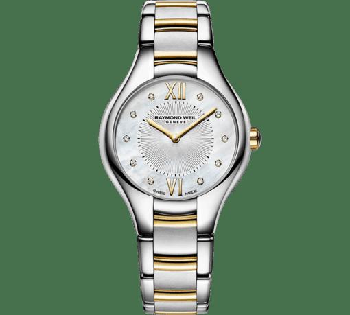RAYMOND WEIL 娜美亚女士系列双色黄金钻石腕表