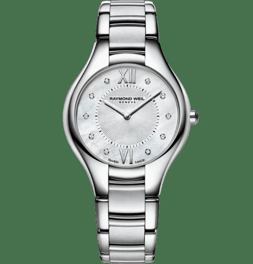 RAYMOND WEIL 娜美亚女士系列 10 钻石英腕表