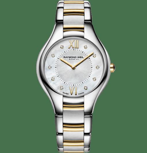 RAYMOND WEIL Noemia ladies two-tone gold diamond watch