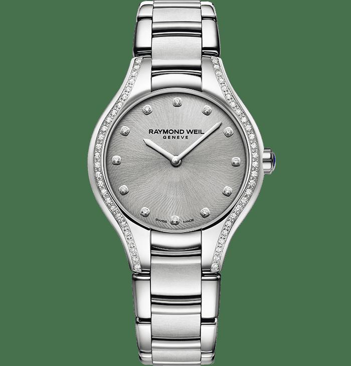 RAYMOND WEIL Noelia grey 64 diamond quartz watch