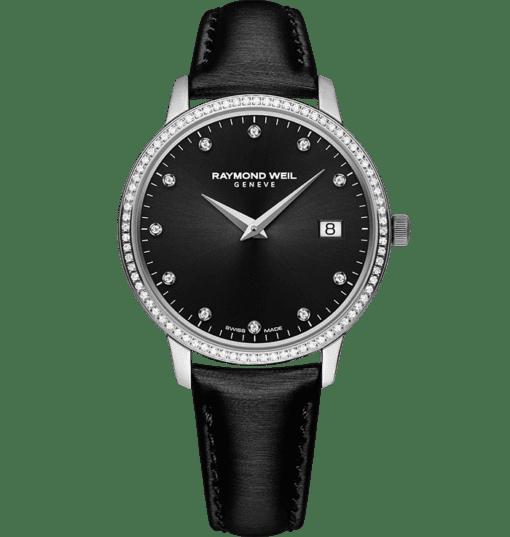 RAYMOND WEIL 托卡塔系列女士系列 91 钻精钢石英腕表