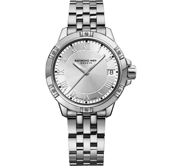 RAYMOND WEIL tango classic ladies white dial steel quartz date watch