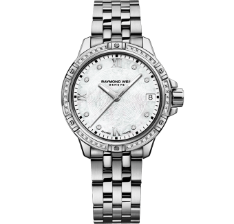 RAYMOND WEIL tango classic ladies silver steel diamond quartz watch