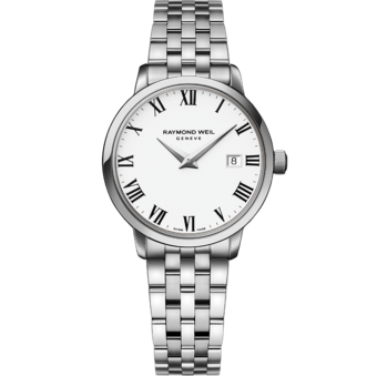 RAYMOND WEIL toccata ladies 5988-st-00300 classic steel quartz watch