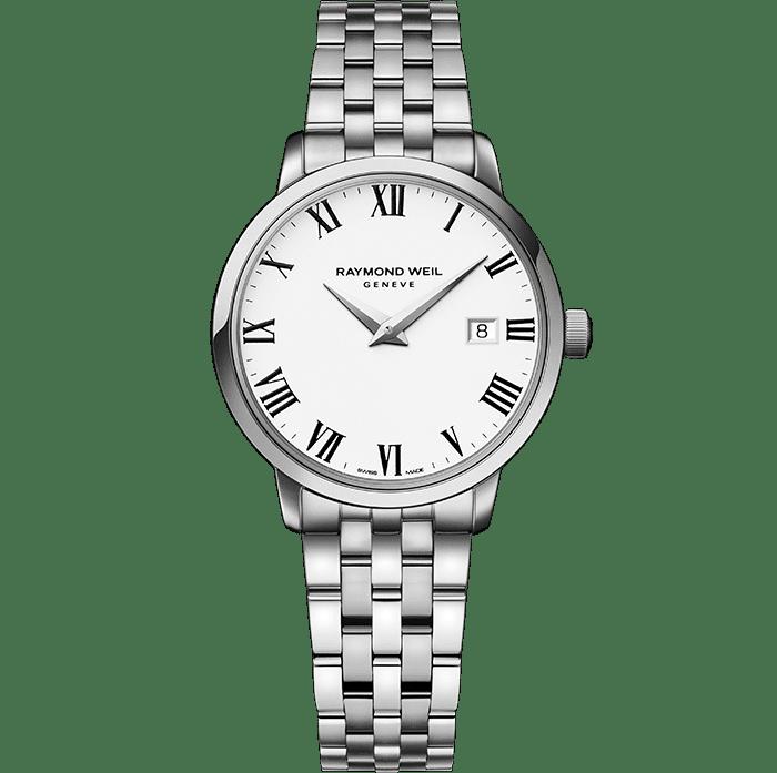 RAYMOND WEIL 托卡塔系列女士系列 5988-st-00300 经典精钢石英腕表