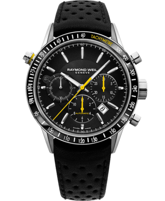 Freelancer - Montre chronographe automatique noire 7740 - RAYMOND WEIL