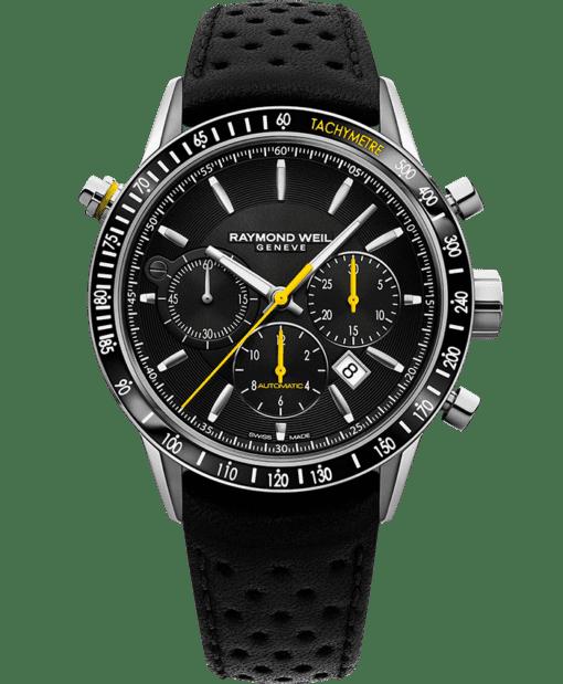 Freelancer - Montre chronographe automatique noire 7740 - RAYMOND WEIL