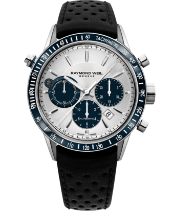 Freelancer - Montre chronographe automatique argentée 7740 - RAYMOND WEIL