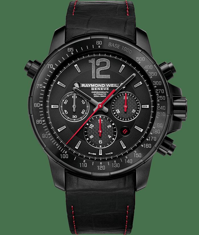 Nabucco - Rivoluzione II Titanium Chronograph Watch - RAYMOND WEIL