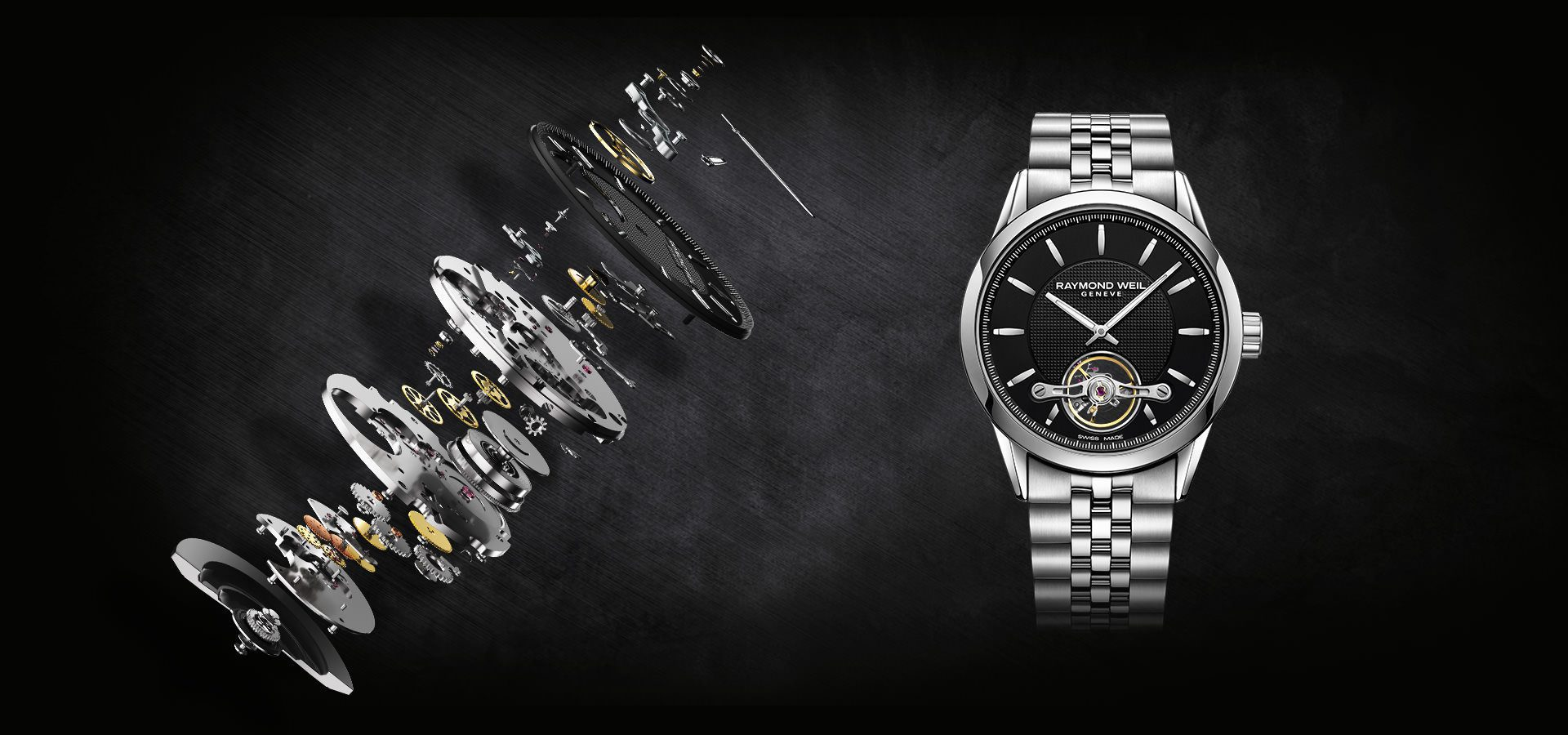 Our Story Swiss Watchmaking Know How Raymond Weil