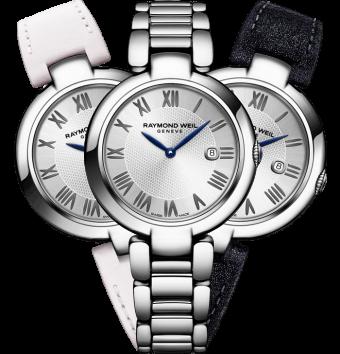 montre à bracelet interchangeable shine Étoile RAYMOND WEIL