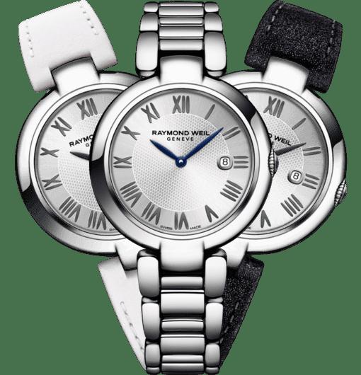 RAYMOND WEIL shine Etoile interchangeable strap set bracelet watch