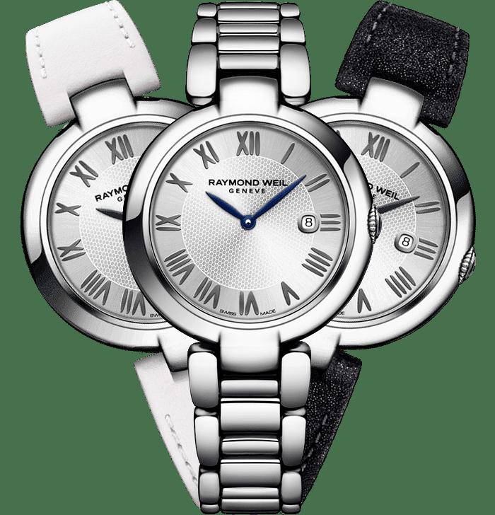 Ladies Interchangeable Leather Strap Watch - Shine | RAYMOND WEIL