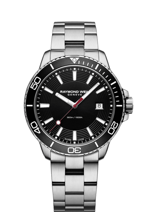 tango 300 GMT black dial quartz chronograph
