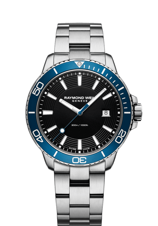blue diver watch tango 300 quartz chronograph
