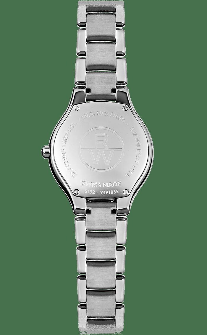 Ladies Stainless Steel Grey Diamond Watch - Noemia  34647eb756b