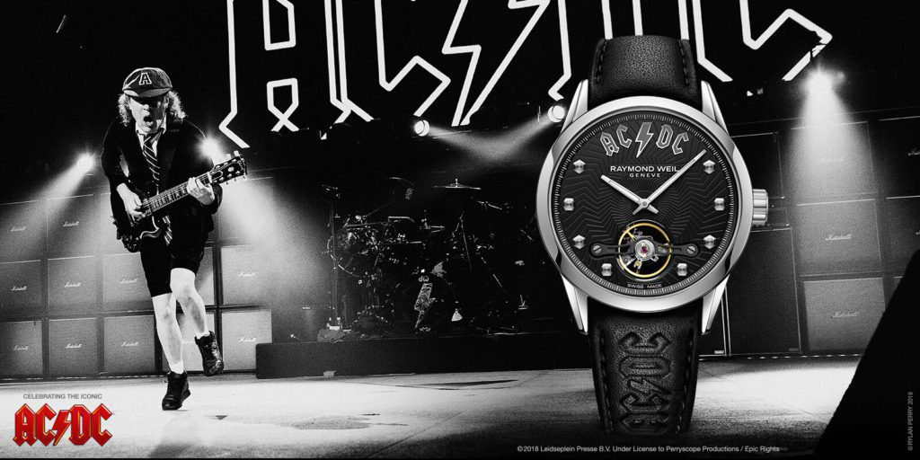 RAYMOND WEIL ACDC Limited Edition Freelancer