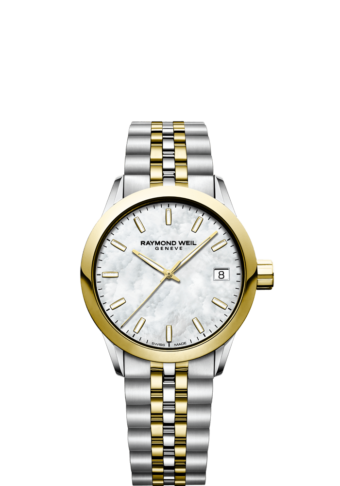 montre 34 mm bicolore or freelancer pour femme 5634-stp-97021 RAYMOND WEIL
