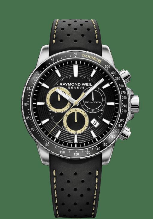 RAYMOND WEIL tango men's rubber strap chronograph 8570-SR1-20701