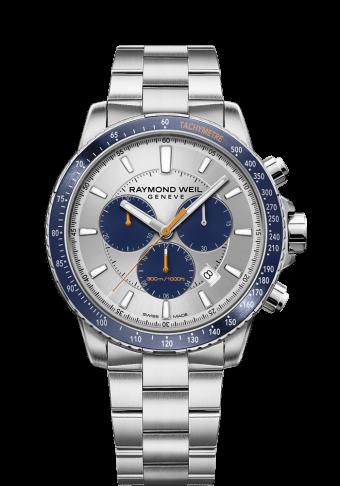 RAYMOND WEIL men's tango blue chronograph 8570-st3-65501