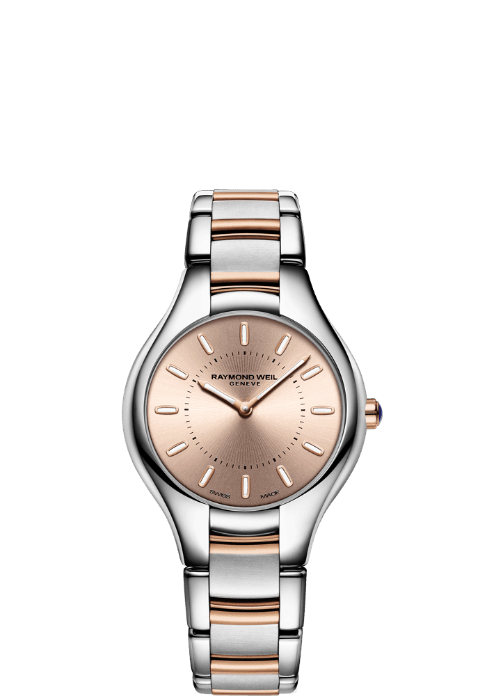 Noemia rose gold dial watch 32mm